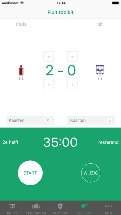 hockey.nl Standenmotor iPhone Screenshot 5