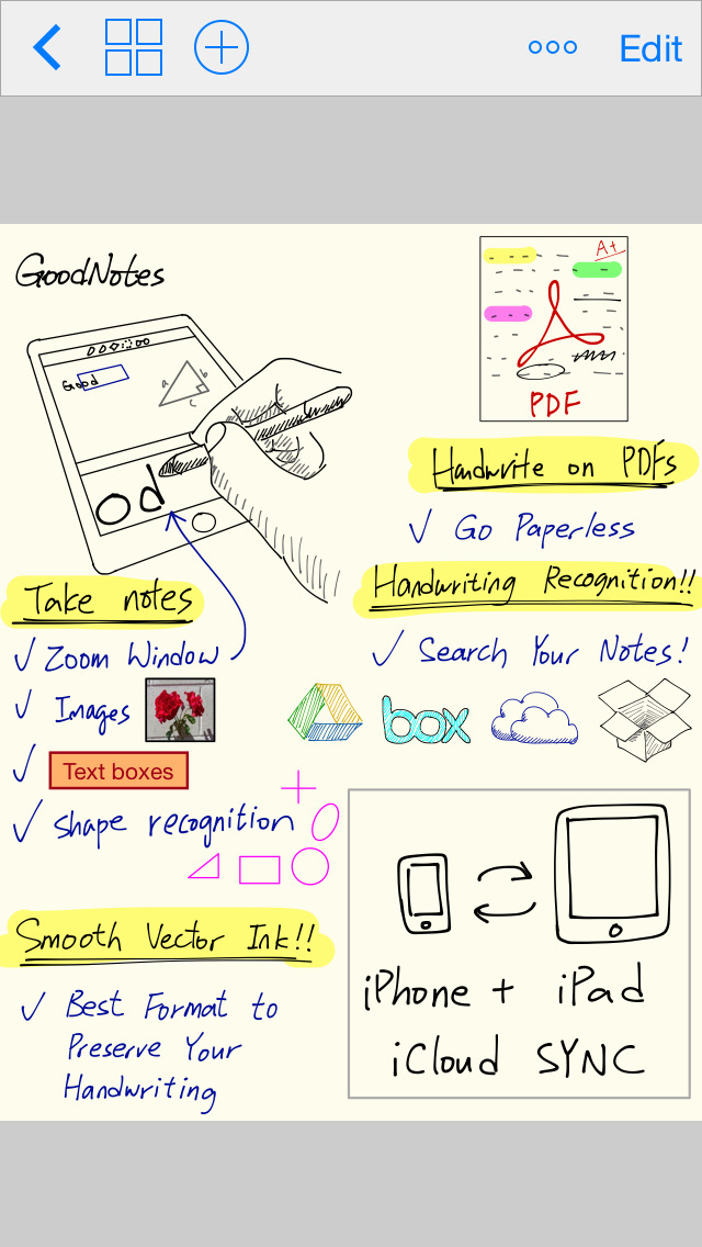 GoodNotes 4 - 笔记和PDF