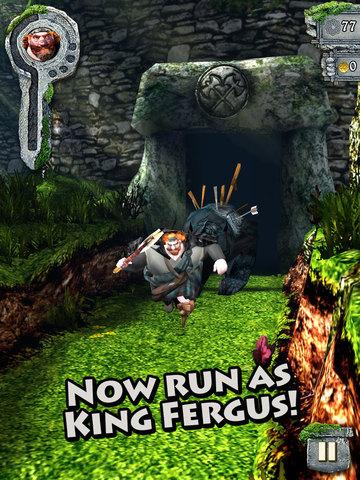 بازی بسیار زیبای  Temple Run: Brave v1.5.2 برای آیفون ،آیپاد و آیپد - تصویر 2