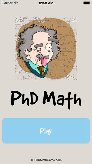 PhD Math
