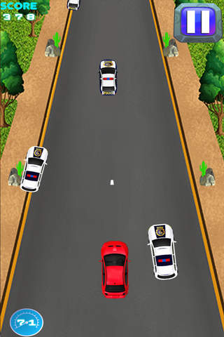 A`AA Police Chase! Top Speed Street Racing` - Smart Car Turbo Fast Illegal Race Mania screenshot 3