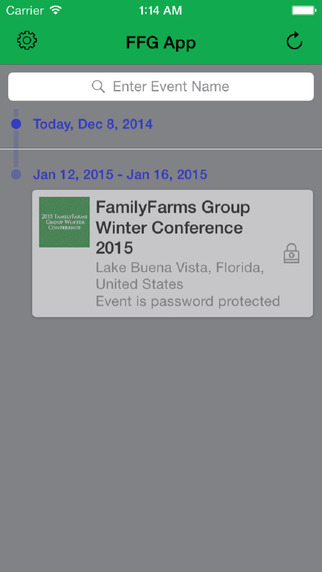 FamilyFarms Group Conference