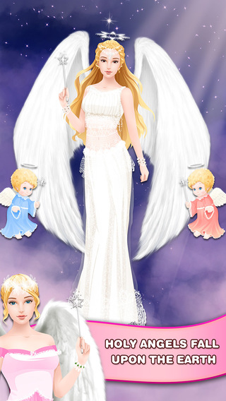 Little Angel Salon - Girls Dress Up Game