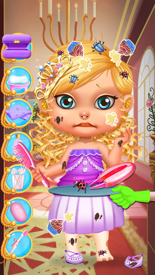 Baby Prince Princess SPA Salon - Royal Coronation Day