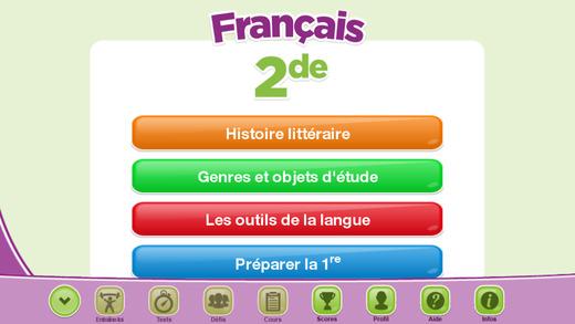 ExoNathan Français 2de : des exercices de révision et d'entraînement pour les élèves du lycée