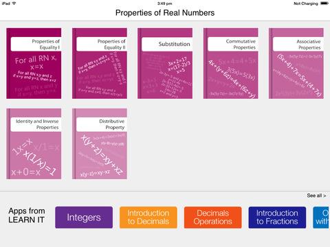 Properties of Real No