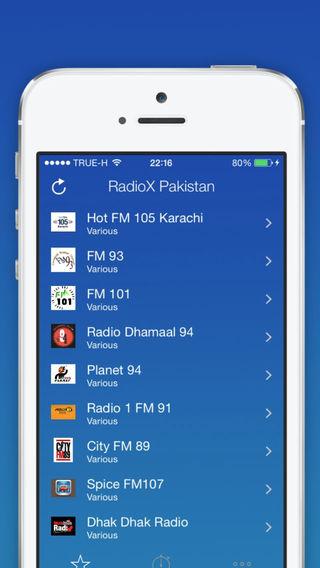 RadioX Pakistan - Radio Online Free