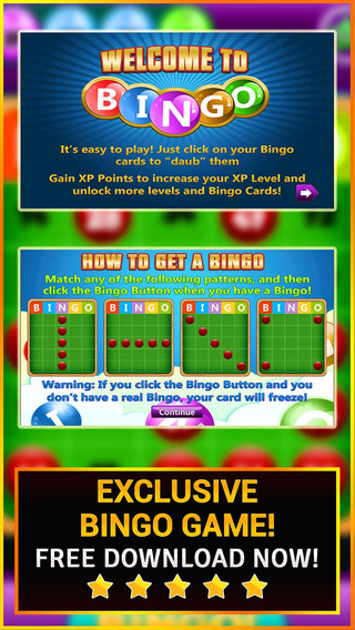 Bingo Rock PRO - Play no Deposit Bingo Game with Multiple Levels for FREE