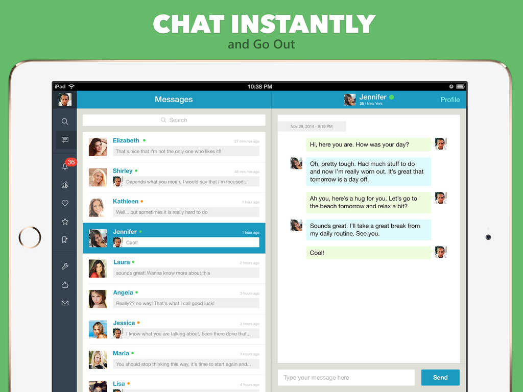 Dating online chatting