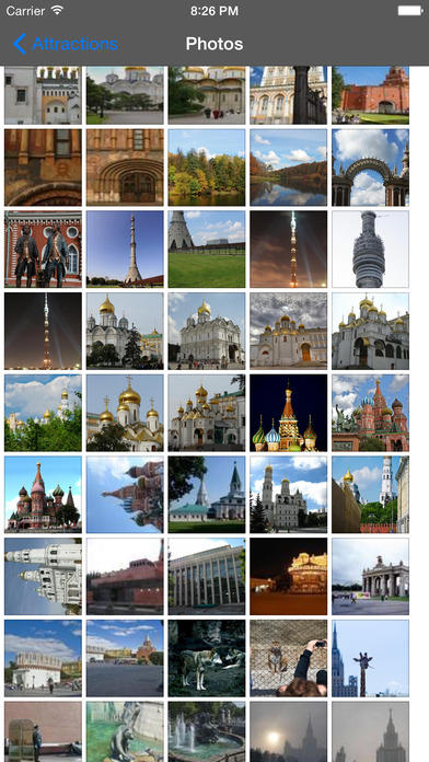 Moscow Travel Guide Offline iPhone Screenshot 2