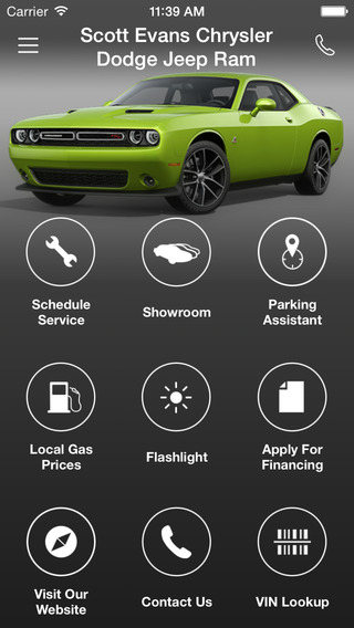 Scott Evans Chrysler Dodge Jeep Ram DealerApp