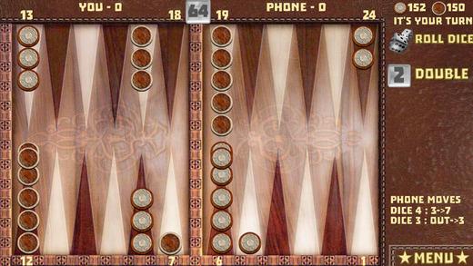 Backgammon 16 Games Free