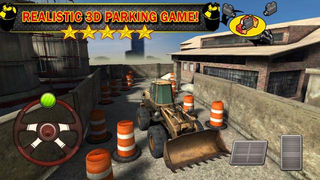 Ace 3D Truck Parking - Construction Trucker Driving Simulator Games Edition