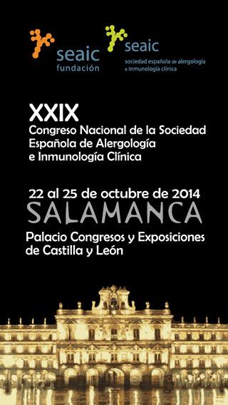 XXIX Congreso Nacional Seaic 2014