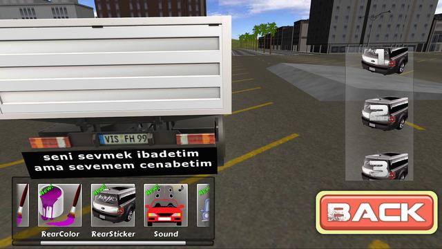 Drift Simulator Modified Truck