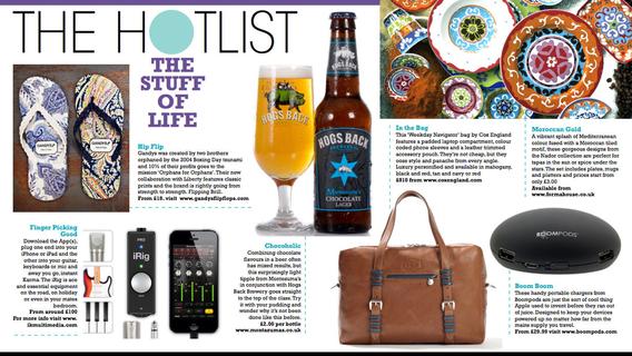 Screenshots for Flush Magazine
