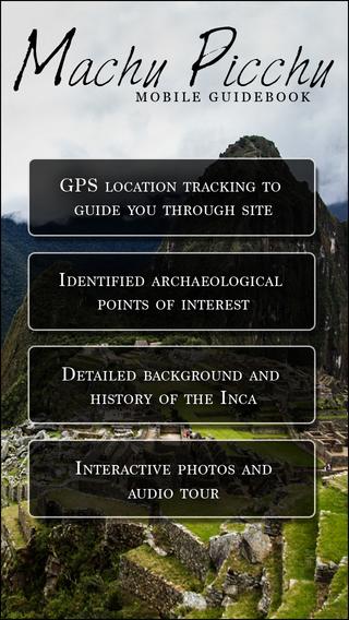 Dr. Jones Guide: Machu Picchu