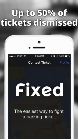 Fixed - Fight your parking tickets