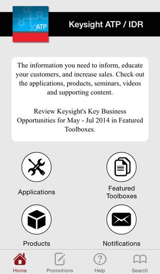 Keysight ATP IDR Application Library