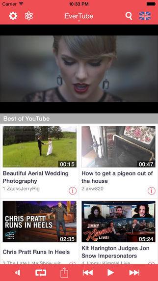 EverTube - Free Video Player for YouTube