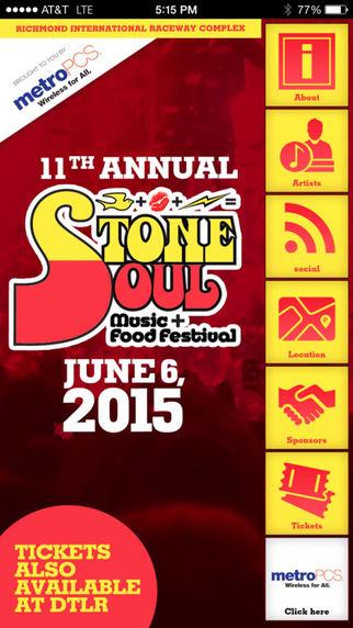 Stone Soul Music & Food Festival|玩生活App免費|玩APPs