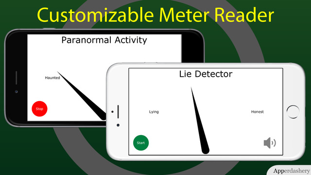 Fun-o-meter - customizable meter reader