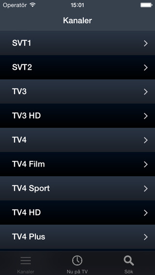 Sverige TV Guide