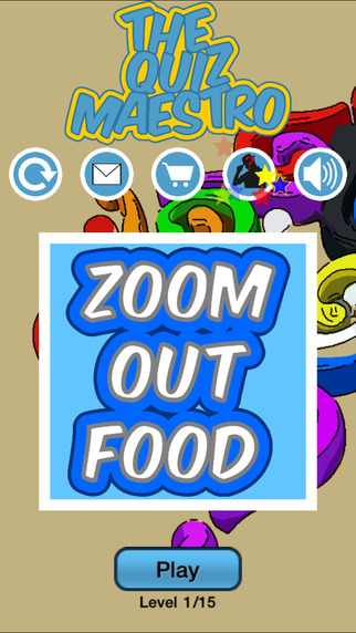 Zoom Out Food Quiz Maestro: Crack Network Restaurant Cooking Chains Calorie Trivia