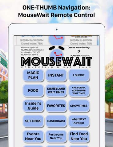 Disneyland Wait Times MouseWait Platinum Insider's Guide to Disneyland