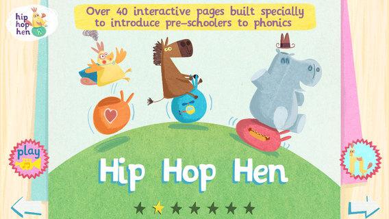 hip hop hen: abc flashcard songs