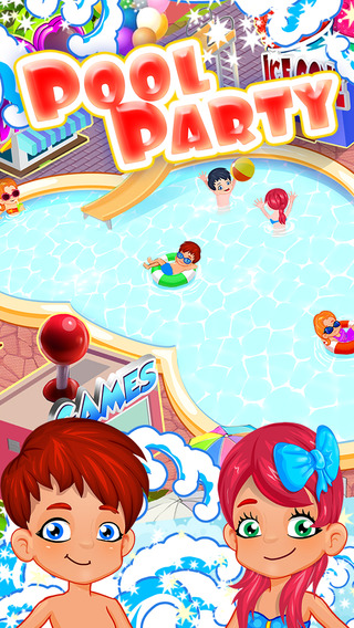Pool Party – Dress Up Makeover and Swim with Your Friends