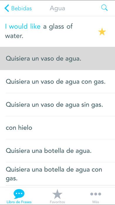 Traductor Inglés Viaje Gratis iPhone Screenshot 3