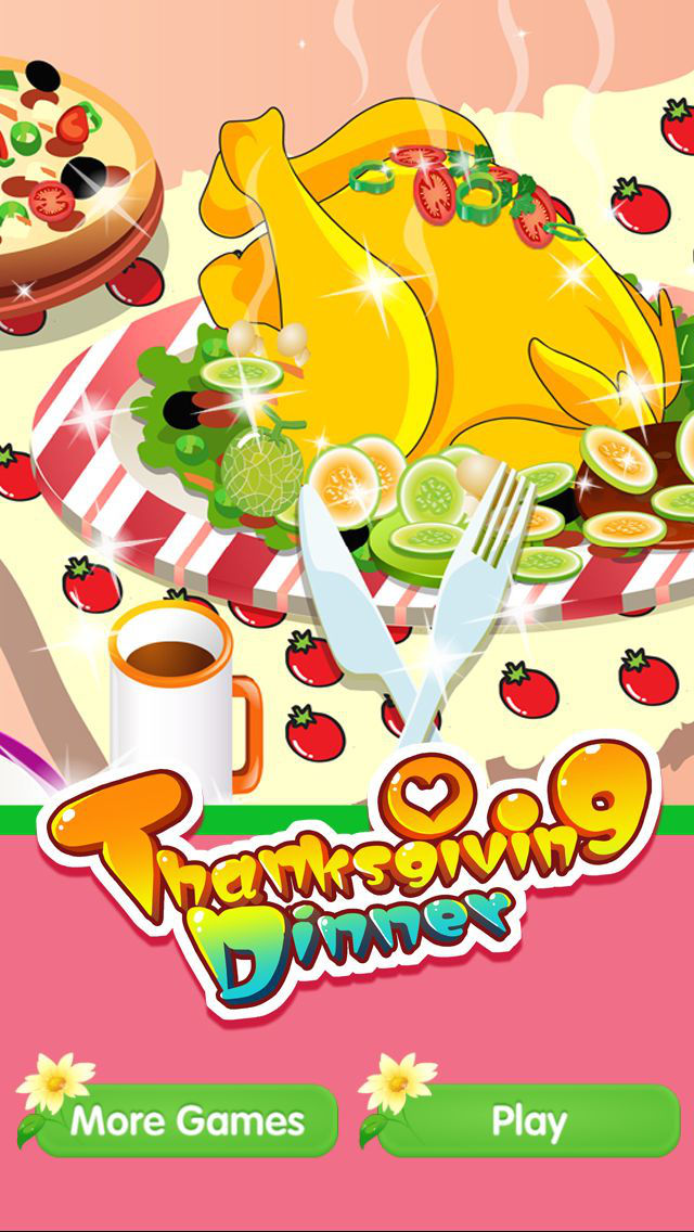 App shopper thanksgiving dinner cooking decoration
