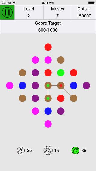 Color Dots Match - Dots Link