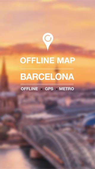 Barcelona Offline Map Pro Metro GPS
