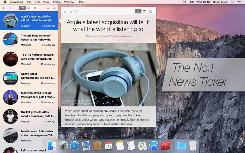 Newsflow Screenshot - 1
