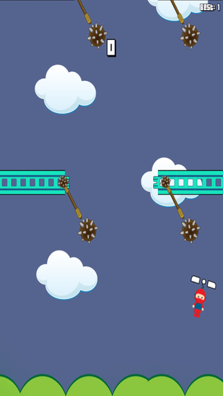 Copter Man - Classic Stick Swing Game