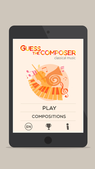 玩免費教育APP|下載Guess composer — Classical music quiz for kids and adults! Listen and learn the best of classics  masterpieces, greatest opera, ballet and concerts app不用錢|硬是要APP
