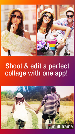 Multiframe - Free Photo Collage Maker and Picture Editor for Instagram and Facebook