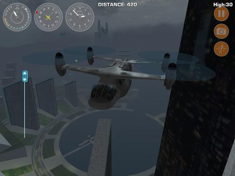 Игра Airplane Fly Megatropolis