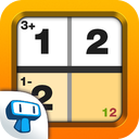 Mathdoku+ Sudoku Style Math & Logic Puzzle Game mobile app icon
