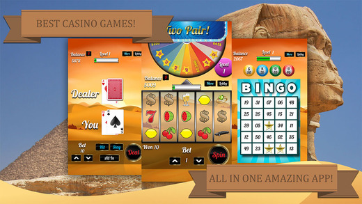 Ancient Pyramid Slot Machine - Pharaoh's Fire and Treasure Casino