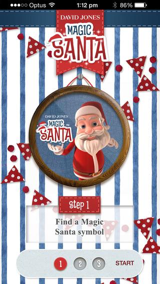 David Jones Magic Santa