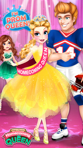 Homecoming Queen Beauty Salon- A Magic Makeover High School Prom Game