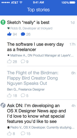 Designer News Client