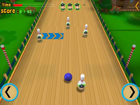 Dog bowling for kids vip iPad Screenshot 2