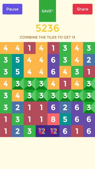 Thirteen Inchy Revolution - Smash Dots Blokshot and Digit Boom