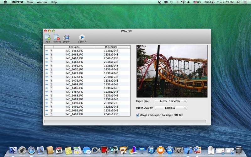 JPG to PDF Screenshot - 1