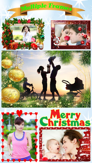 Xmas Photo Sticker Booth - Editing your Pictures for Merry Christmas Happy New Year