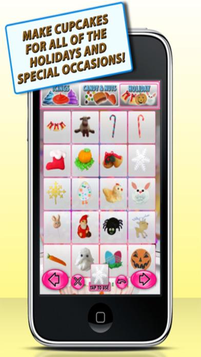 Cupcake Maker - Free iPhone Screenshot 3